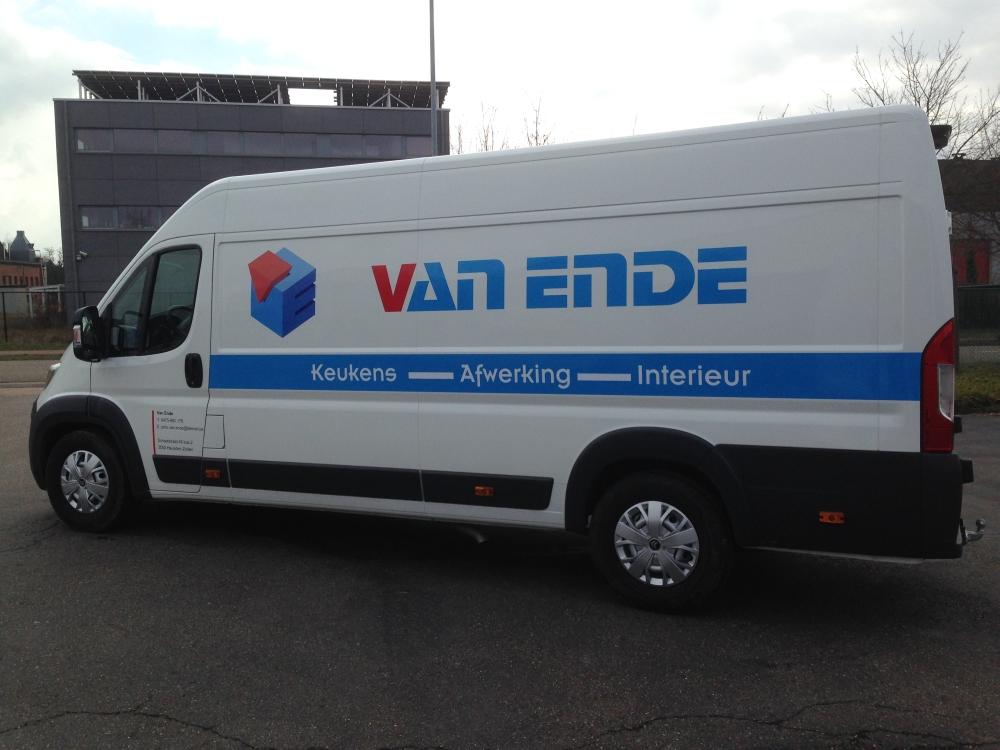 Autobelettering Belettering Van Bestelwagens Bestikkeren