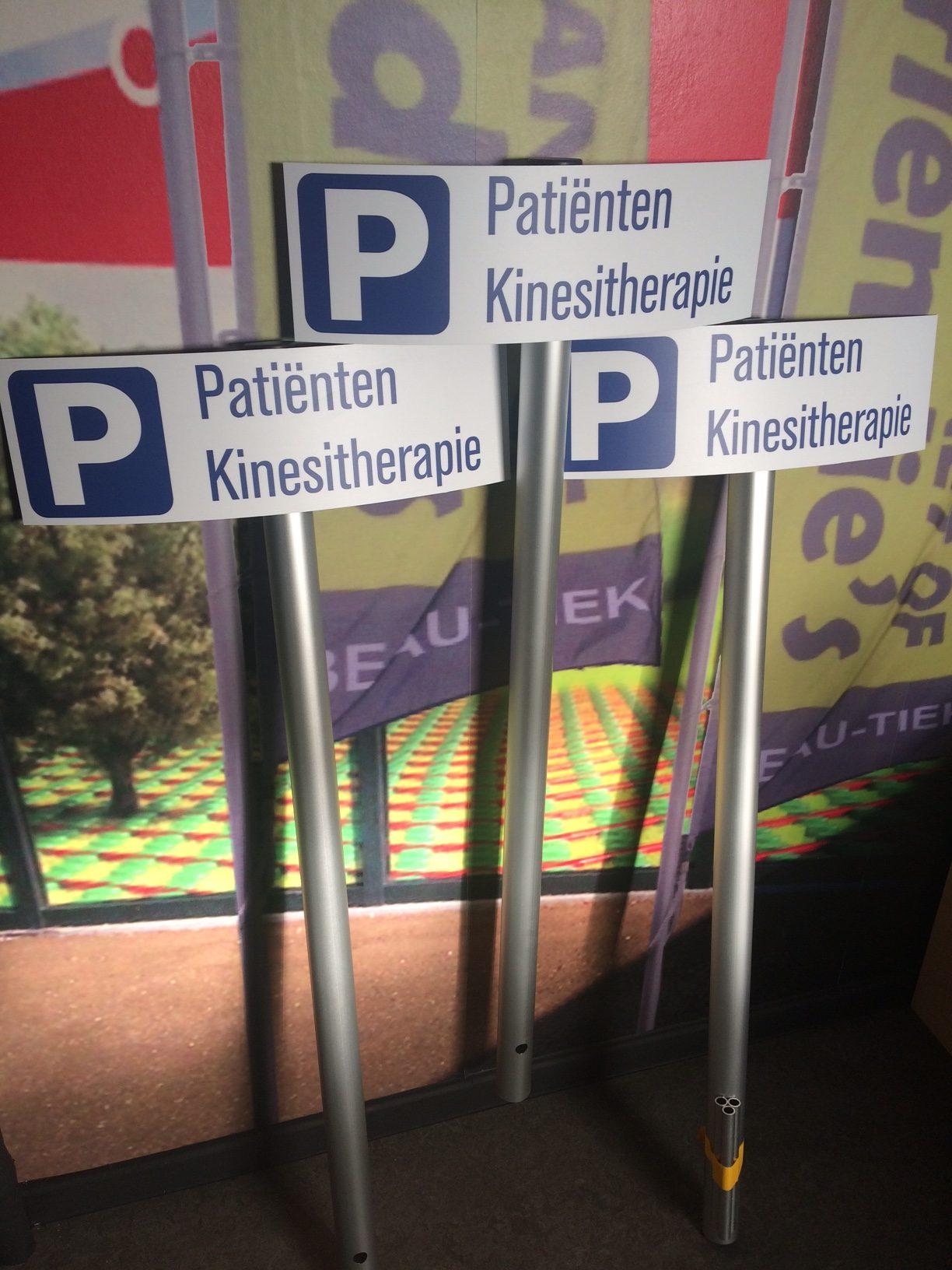 Parkeerborden Patiënten