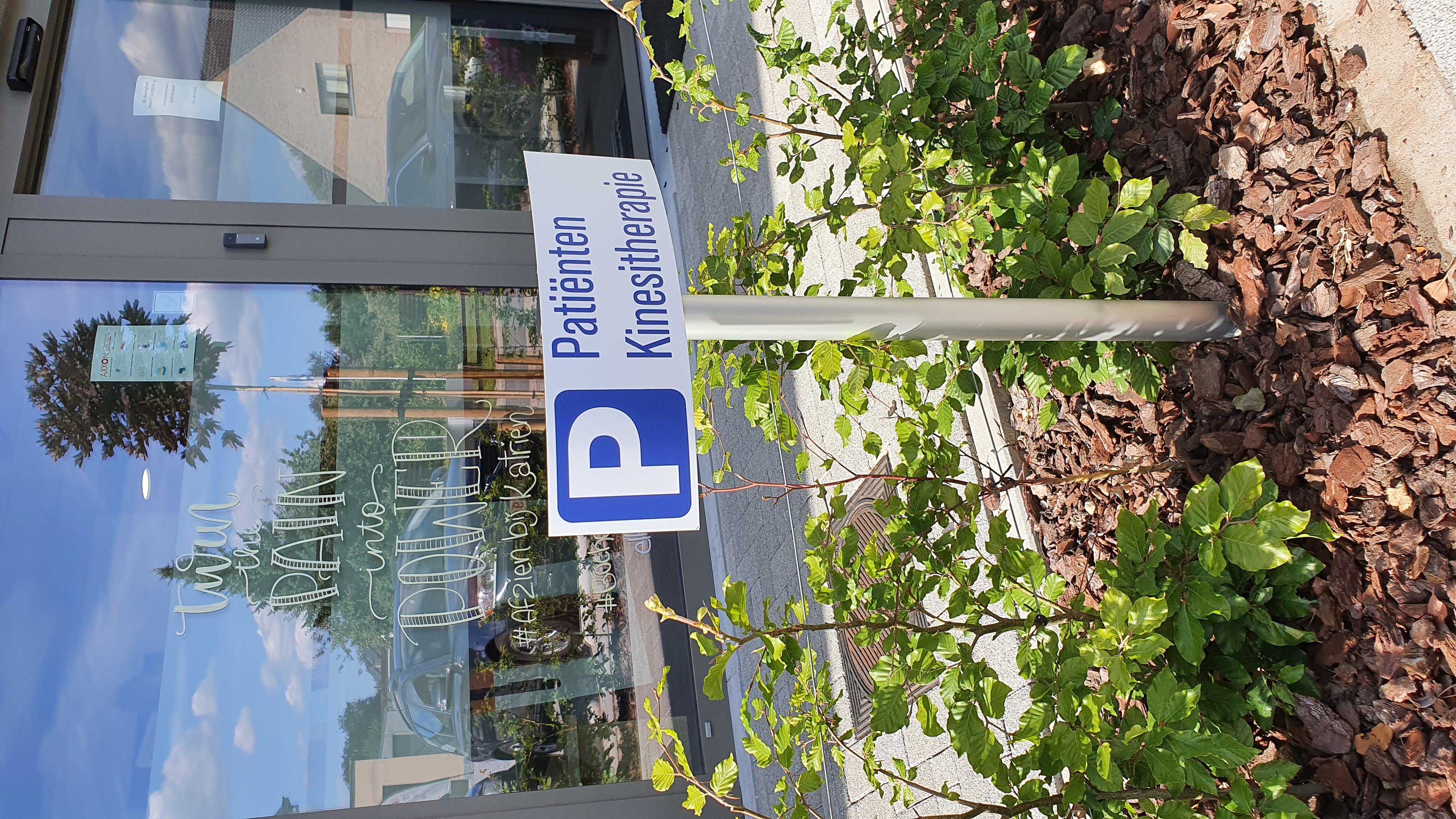 ParkingbordenKinesitherapie